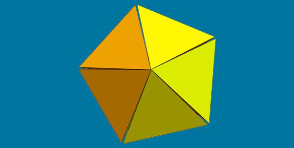 Edge-Sharing 5-Fold Cluster