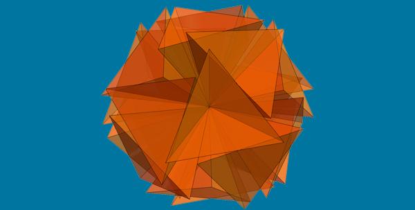 Vertex-Sharing 5-Fold Cluster