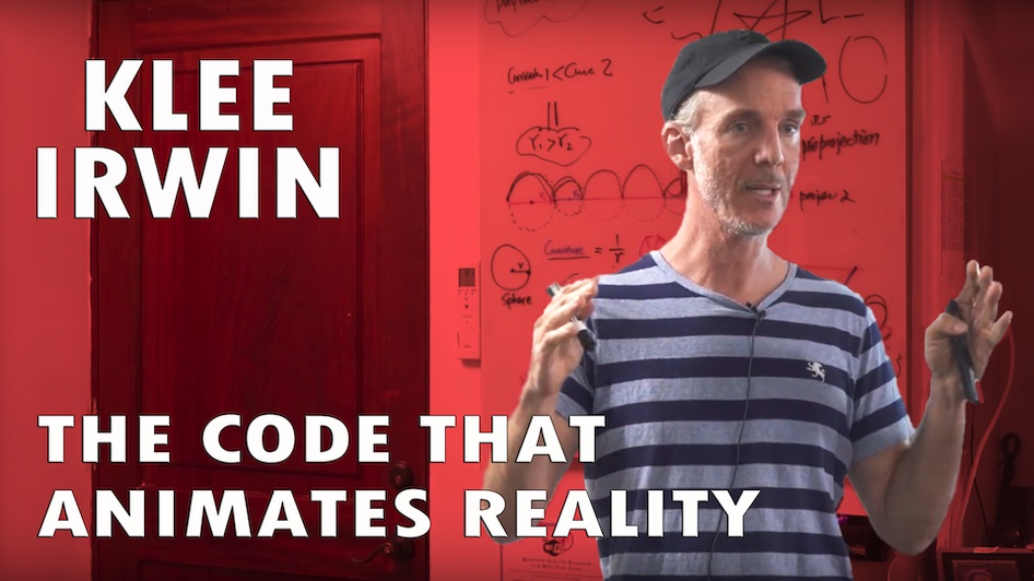 The Code that Animates Reality