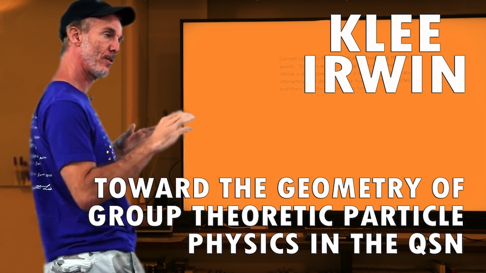 Toward the Geometry of Group Theoretic Particle Physics in the QSN