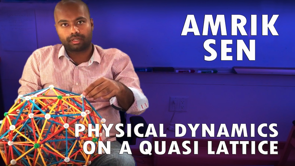 Physical Dynamics on a Quasi Lattice