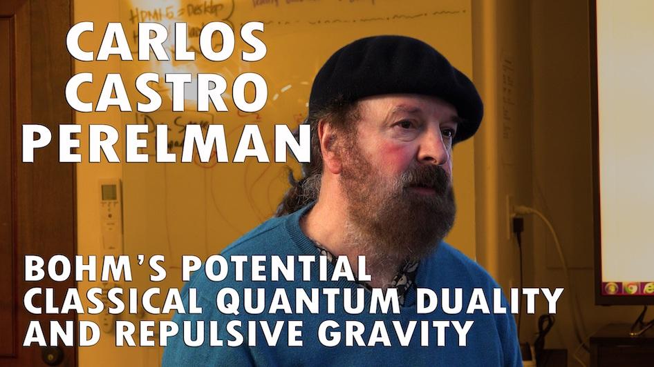Bohms Potential, Classical/Quantum Duality, Repulsive Gravity