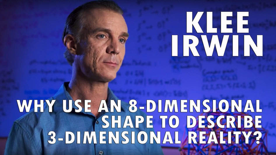Why Use an 8-Dimensional Shape to Describe 3-Dimensional Reality?